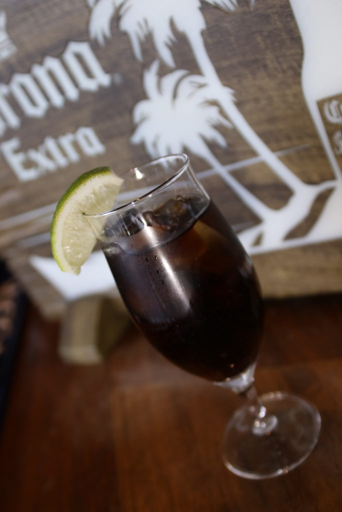<strong>ラムコーク<br>〜Cuba Libre〜</strong> 880<small>円</small><br>