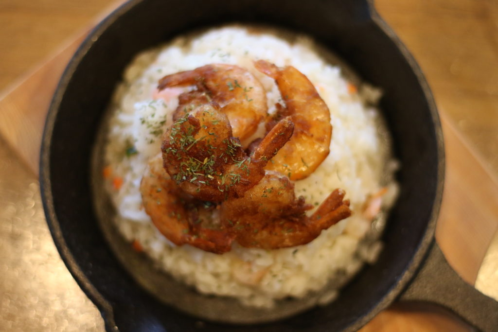 <strong>OKINAWAピラフ<br>〜OKINAWA Pilaf(Seafood Pilaf)〜</strong> 980<small>円</small><br>